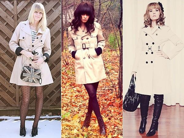 casacos Trench Coat para o inverno 2014