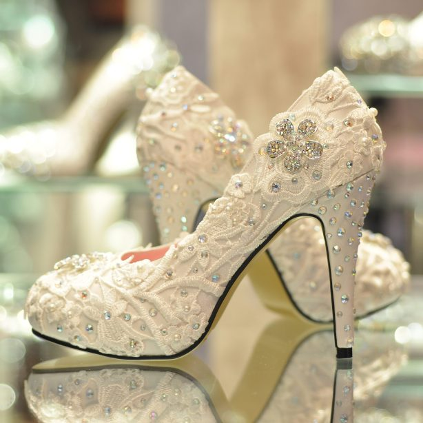sapato de luxo para noivas exigentes