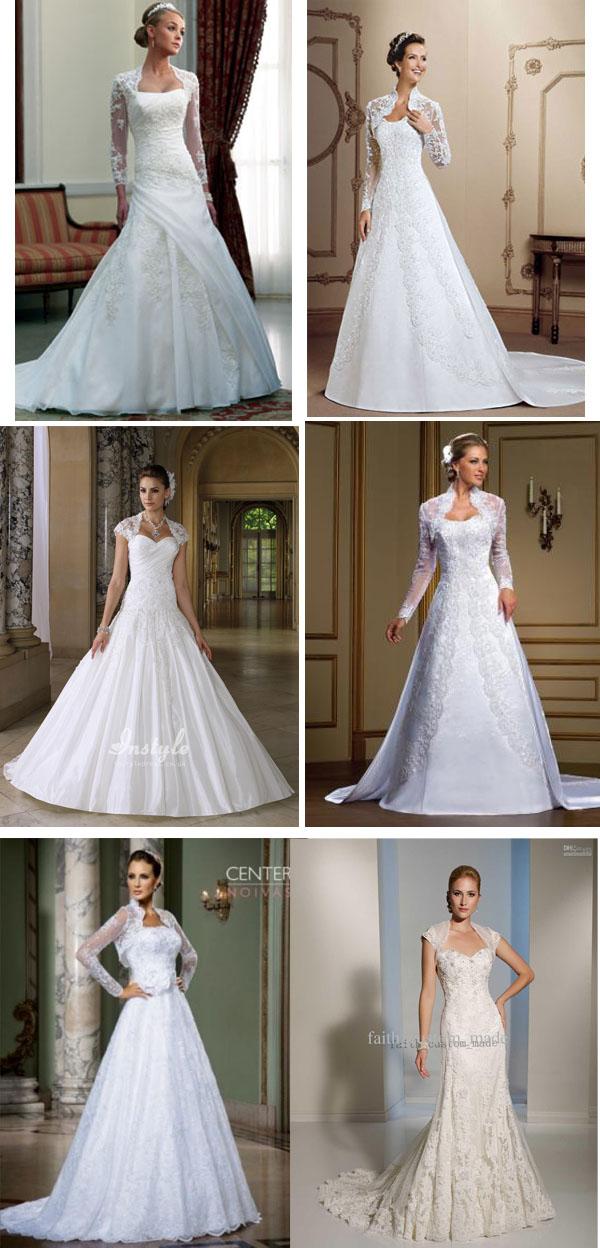 modelos de vestidos de noivas evangélicas
