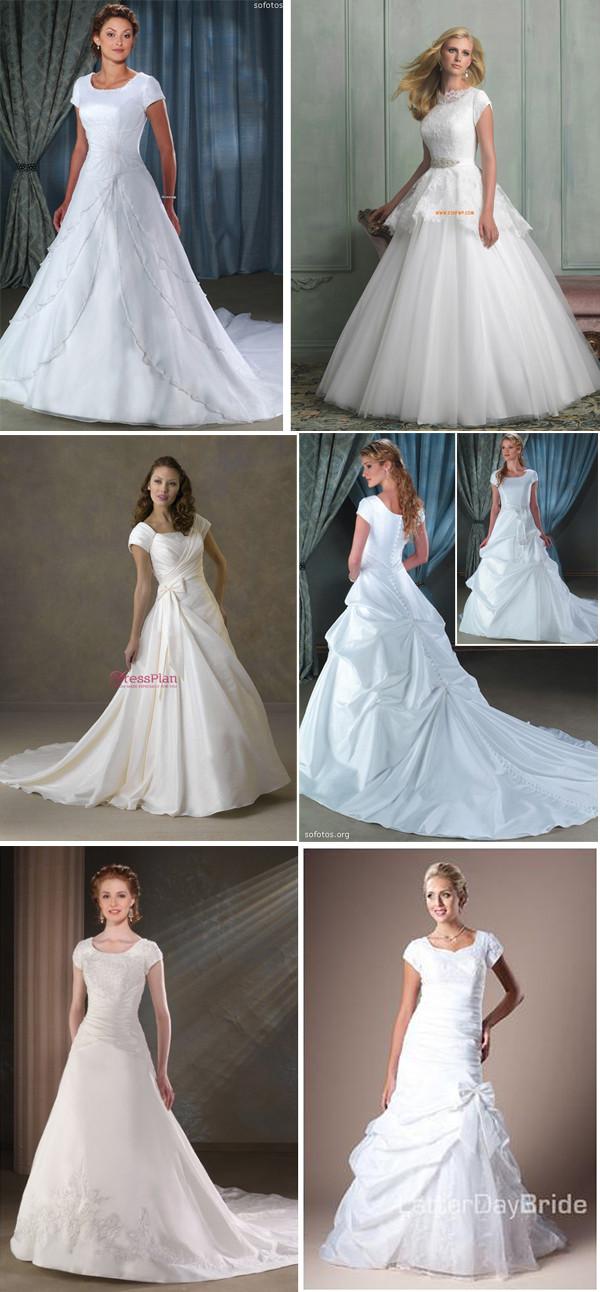 fotos de vestidos de noivas ideais para evangélicas