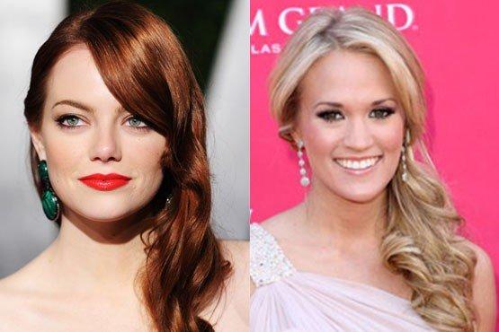 celebridades com penteados fáceis de fazer