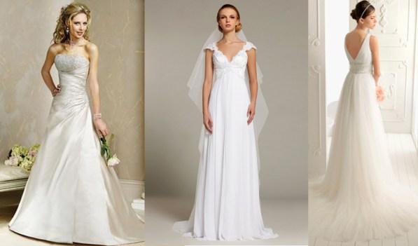 como dever ser o vestido para noivas baixinhas