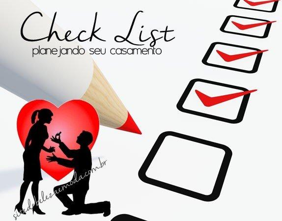 Checklist da noiva