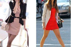 como-usar-blazer-com-vestido