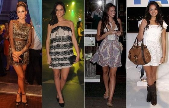 estilo de se vestir da Bruna Marquezine