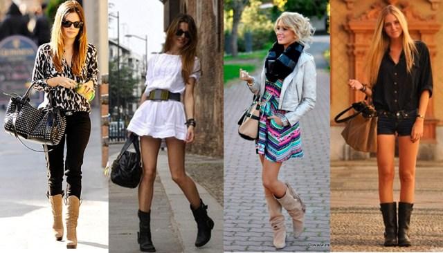 Bota certa para mulheres altas que tem pernas finas ou pernas longas