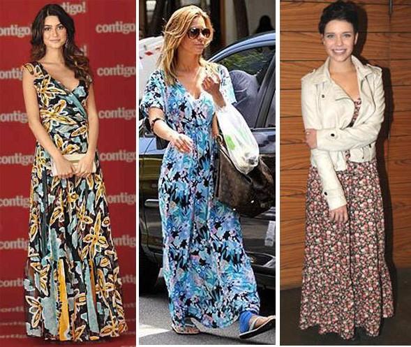 vestidos longos para copiar em um look evangélico