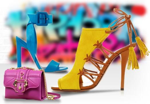 cores de calçados Verão 2015