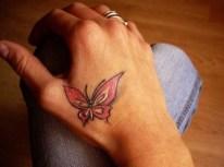 Beautiful-Butterfly-Hand-Tattoo-for-Women