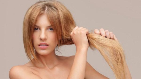 cabelos brilhantes e sedosos