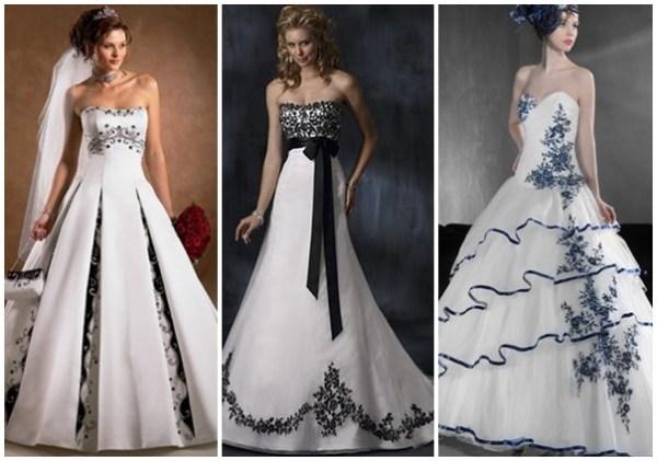 Modelos de vestidos de noiva modernos