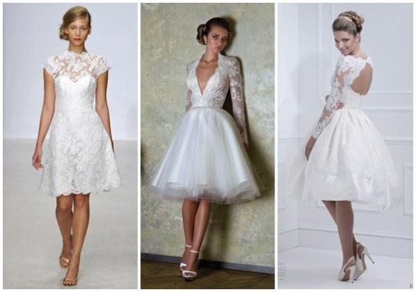 fotos de vestidos de noiva modernos curtos