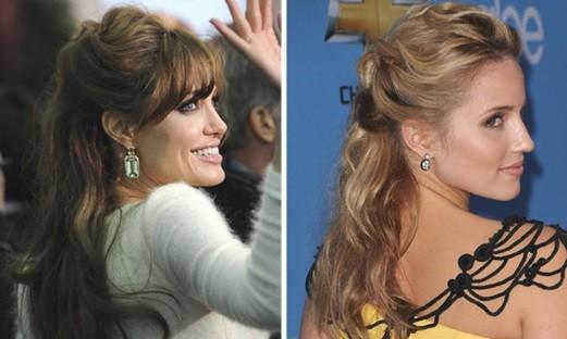Penteados de Festas inspirado nas celebridades