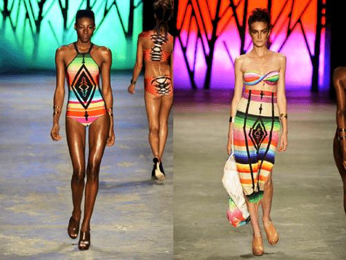 tendência navajo na moda praia 2015