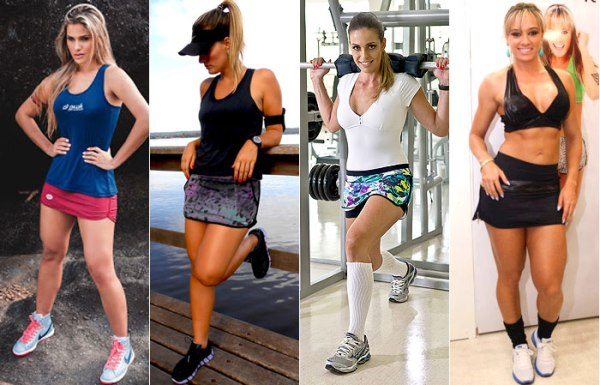 Saia da moda fitness 2015