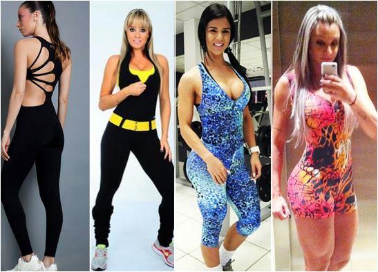 Macacão da moda fitness 2015