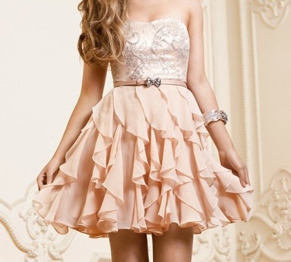 uma das ideias de vestidos para formatura