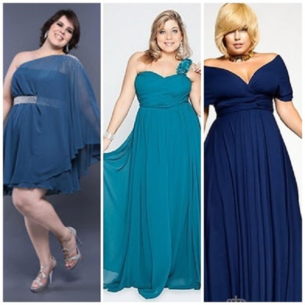 Vestidos plus size para festas de casamento e formatura
