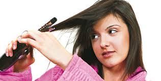 Fazer chapinha com o cabelo sujo é um erro