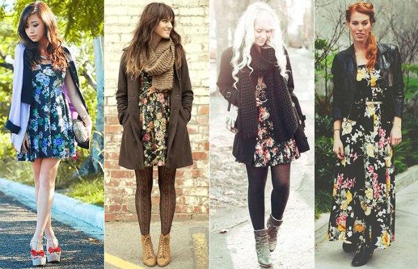 vestidos como peças de roupa para todas estações