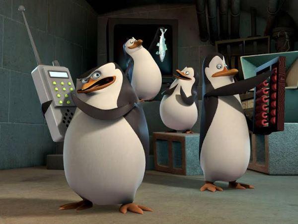 Os Pinguins de Madagascar no cinema janeiro 2015