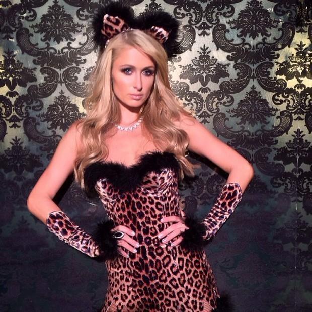 Fantasia de carnaval da Paris Hilton