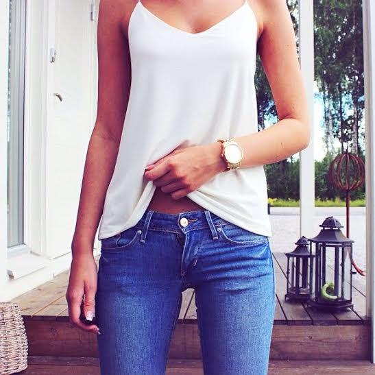 Looks casuais com Jeans, regatas e shorts