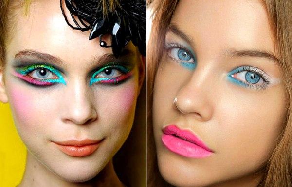 Maquiagem de carnaval artística