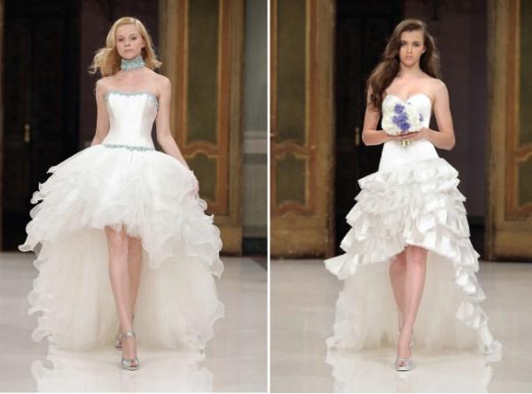 Vestido branco com Recorte Mullet