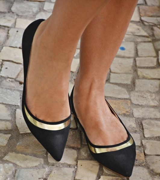 sapatilhas de bico