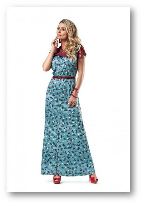 vestido da moda evangélica 2015