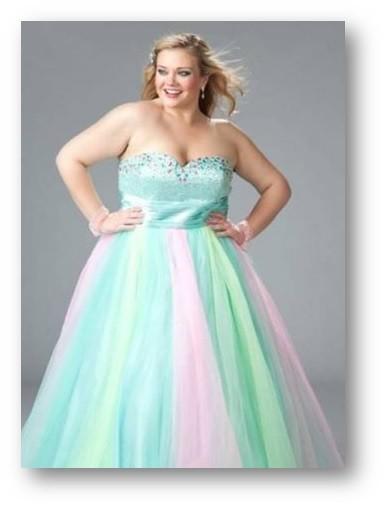 Vestido Princesa Plus Size