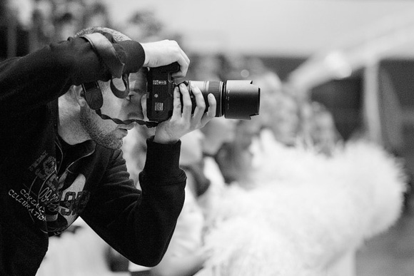 fotógrafo para a festa de casamento