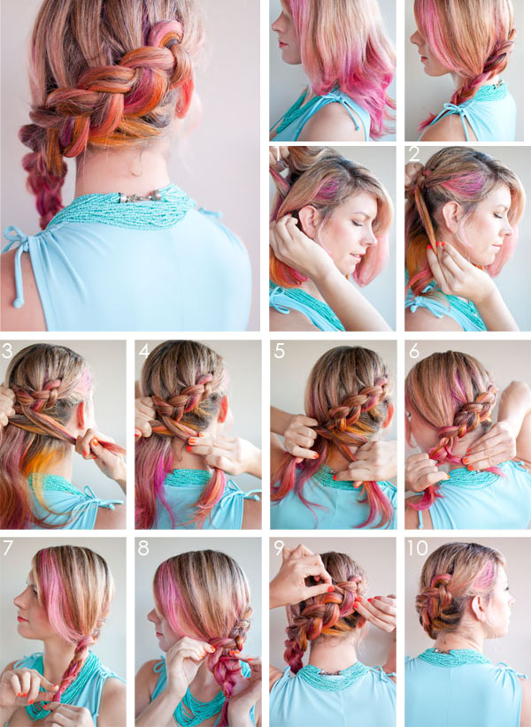 penteados bonitos e fáceis de fazer