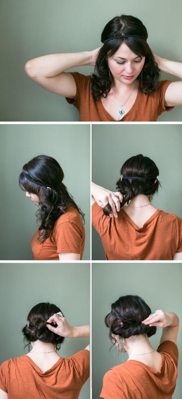 penteados bonitos