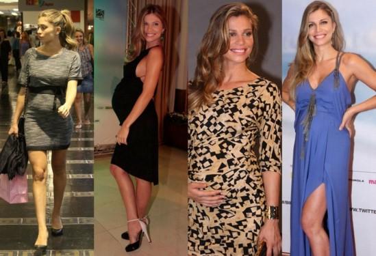 vestidos de festa para grávidas magrinhas