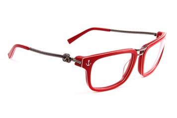 óculos de grau com armação vermelha