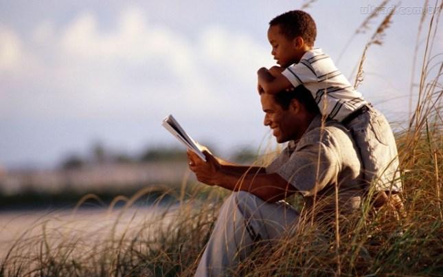 pai com filho no bom casamento
