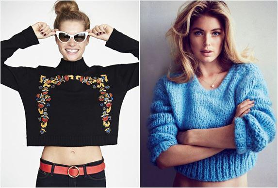 suéter cropped faz parte da moda inverno 2015