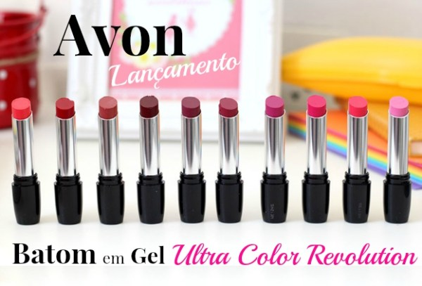 Avon lança coleção de Batom em gel: Ultra Color Revolution