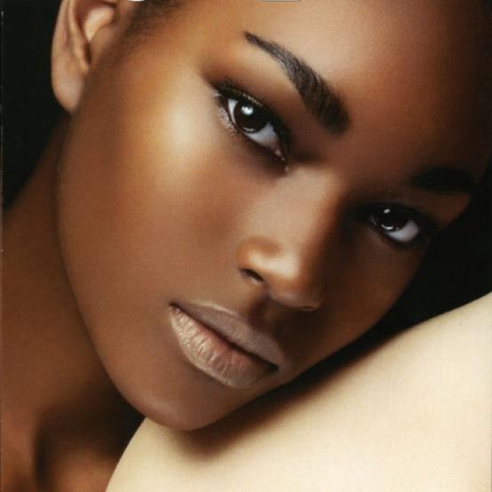 Pele negra perfeita