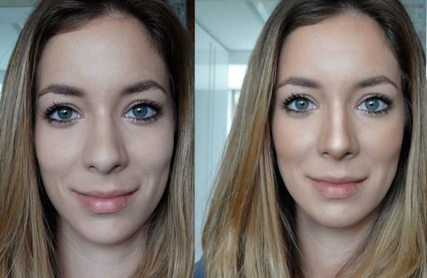 maquiagem para afinar o nariz