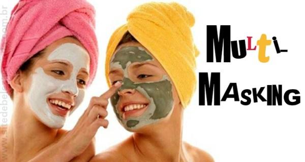 Multi-masking: o novo hit de beleza