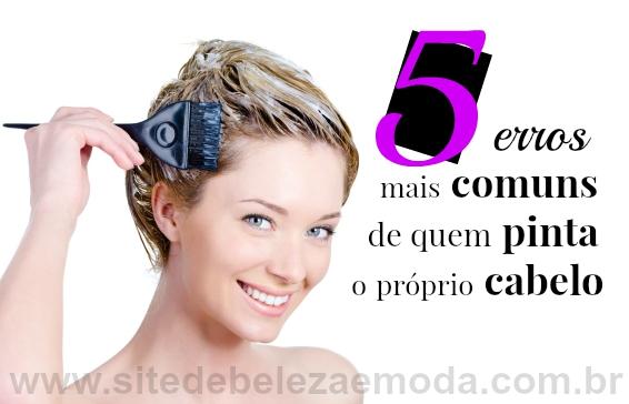 5 erros mais comuns de quem pinta o próprio cabelo