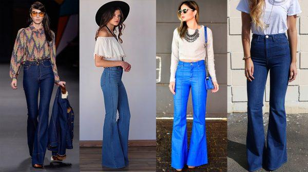 Moda da calça de cintura alta