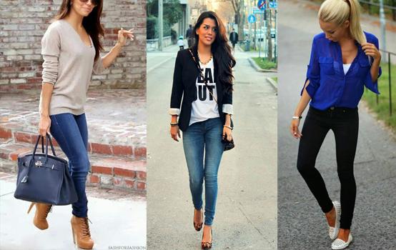 Combinar o sapato com calça Skinny ou Legging