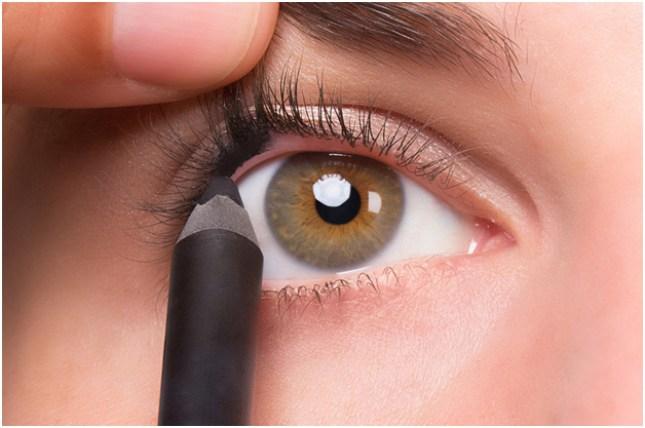 Olhos sutilmente maquiados