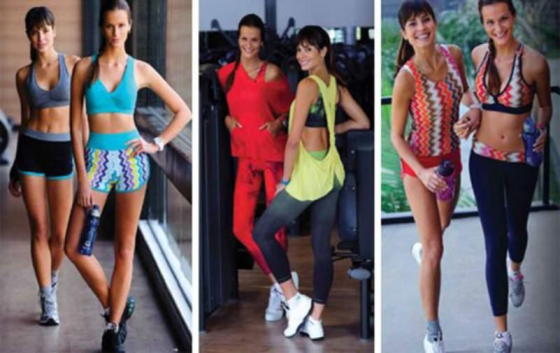 Modelo de roupas fitness 2016