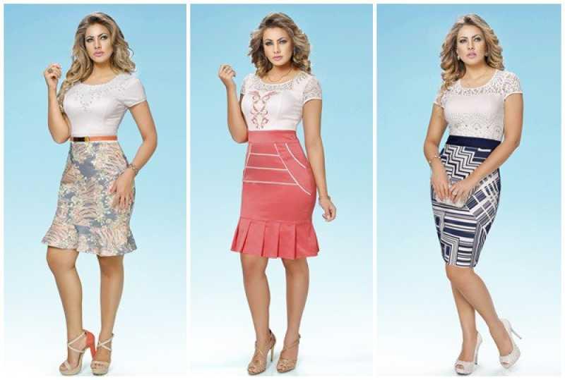 Modelo de saias moda evangélica 2016