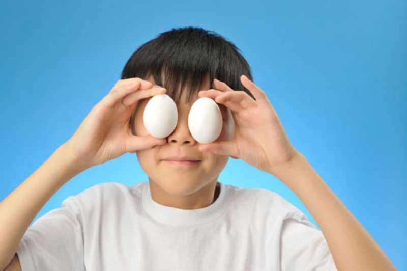 Ovos são excelentes para visão